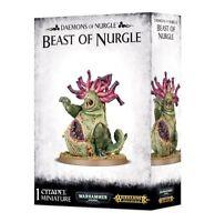 Warhammer 40k/AoS: Daemons of Nurgle - Beast of Nurgle GW 83-15 NIB