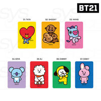 BTS BT21 Official Authentic Goods Three-Piece Stamp 7SET by Kumhong Fancy