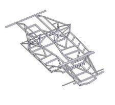NAERC Chassis Plans - Lamborghini Diablo Kit Car