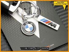 BMW M Logo Emblem E46 E90 F30 E39 E60 F10 F20 F32 F33 F34 F823 F87 Car Key Ring