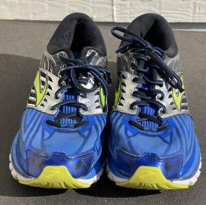Brooks Glycerin 14 D Men's Sz 14 Running Shoes Blue Silver Green Read See Photos