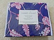 NEW Sweet Clover Dips and Bedspreads Full / Queen Duvet Cover w/ Sham Set