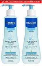 2pk Mustela Baby No-Rinse Cleansing Micellar Water 10.14oz each Normal Skin