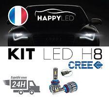 2 Ampoule Led H8 H9 H11 Haute Puissance 6000k Anti-erreur 8000 Lumen Waterproof