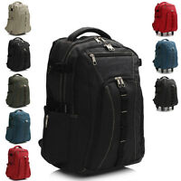 New Large Men Boys Ladies Designer Womens Backpack Rucksack School Bag Travel UK