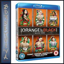 ORANGE IS THE NEW BLACK - COMPLETE SEASON 3  *BRAND NEW BLURAY **