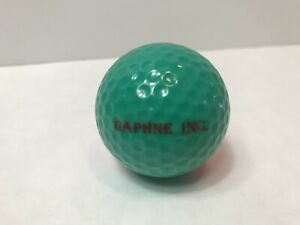 Ping Daphne Inc. Green & Pink Golf Ball Collectible