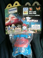McDonald's  2017 Happy Meal Toy Smurfs  #6 The Lost Village 3+  BNIP W/Box