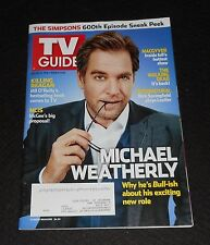 VG! TV GUIDE ~ MICHAEL WEATHERLY ~ October 20-23, 2016 ~ Double Issue / English