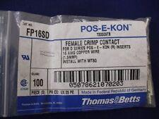 Crimp Pin Thomas & Betts FP16SD