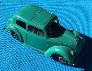 1950's Minic Toys Tri-Ang Hillman Minx MK8 Wind-up Friction car, no key,