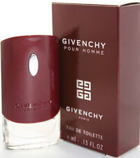 GIVENCHY POUR HOMME BY GIVENCHY 0.13 OZ EDT MINI FOR MEN NEW IN BOX