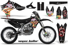 YAMAHA YZF 450 Graphic Kit AMR Racing # Plates Decal Sticker Part 10-13 VBV