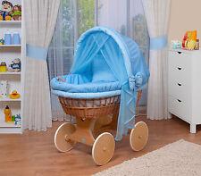 WALDIN bébé Chariot enfants,couchette bébé XXL Nouveau bleu
