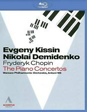 Chopin~The Piano Concertos~Kissin/Demidenko (Blu-ray) NEW **Free Shipping**