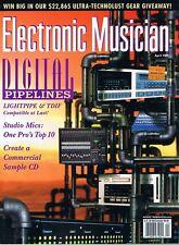 1999 Electronic Musician Top Studio Mics: AKG C3000, Neuman U 87 TLM 193, MD 441