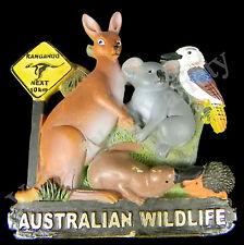 Fridge Magnet Australian 3D Kangaroo Koala Platypus Kookaburra Platypus Echidna