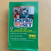 1990 PRO SET FOOTBALL SERIES I WAX PACK BOX-FACTORY SEALED UNOPENED PACKS