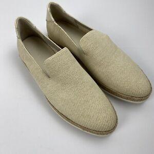 Vince Dillon Knit Loafer Sneaker size 6.5 , EU 36.5 Tan White New $225
