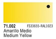 Vallejo Yellow Model Air Color 17ml Bottle Paint 71.002 VLJ71002