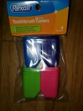 Toothbrush Covers 4 Plastic Toothbrush Head Covers