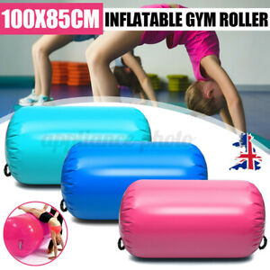 Inflatable Gymnastics Gym Air Track Mat Lagre Roller Cylinder Training Exercise