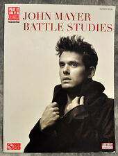 NEW! John Mayer BATTLE STUDIES Guitar Tablature Book Cherry Lane Music HL2501502