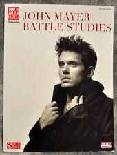 NEW! John Mayer BATTLE STUDIES Guitar Tablature Book Cherry Lane Music HL2501502