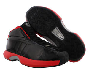 Adidas Crazy 1 Mens Shoes Size 10, Color: Black/Grey/Red