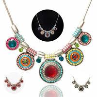 Necklace Fashion Jewelry Choker Bib Statement Chain Pendant  Chunky Charm