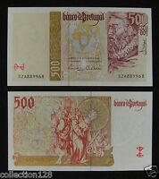 Portugal 500 Escudos Paper Money 1997 UNC