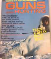 Guns And Hunting Magazine .38  Super .224 Clark Wildcat June 1967 080517nonrh