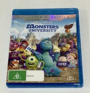 Monsters University Blu-ray 2 Disc Set Collectors Edition