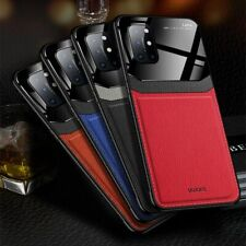 Silm Leather Case For Oneplus 8T Nord 8 7 Pro 7T Pro 6T Skin PC Back Cover Matte