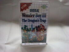 SEGA MASTER SYSTEM  GAME COVER FRIDGE MAGNET WONDER BOY 3 THE DRAGONS TRAP