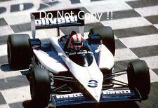 Marc sürer Brabham BT54 French Grand Prix 1985 PHOTO 1
