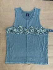 Abercrombie & Fitch Mens Woodcut Graphic Tank SIZE XXL