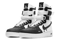 Nike Air Force 1 SF1 Special Field Boots Shoes 864024 100 White Black Panda 7.5