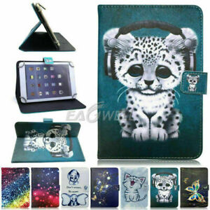 "For Samsung Galaxy Tab A7 8 9.7"" 10.1"" 10.4"" Tablet Universal Folio Flip Case"