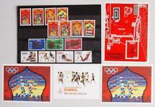 CARIBBEAN 1980 OLYMPICS, XF Cpl. MNH** Collection, Antigua Barbuda Trinidad
