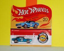2018 HOT WHEELS 50TH GOLDEN ANNIVERSARY CAR 3 of 5 '67 Camaro - Aqua Blue