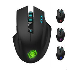SROCKER C10s 2.4GHz Wireless Silent Click Gaming Mouse/Mice Soundless Mouse with