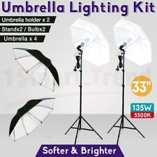 Home Studio Continuous Lighting Kit 60cm Octabox with 85W 5400k bulb stand bag