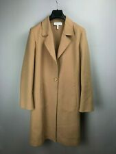 ESCADA By Margaretha Ley Lana Wool Coat Brown 38 8 M Medium Luxury