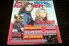 METAL HAMMER MAGAZINE 4/1995 STRATOVARIUS SLASH MOTORHEAD METALLICA