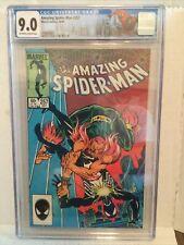 Amazing Spiderman # 257 CGC 9.0  Spidey Label  2nd Puma 1st Ned Leeds Hobgoblin