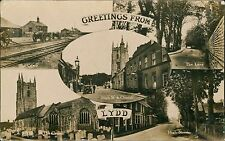 Greetings from Lydd, multi Artillery Camp Lane High Street RP QS.713