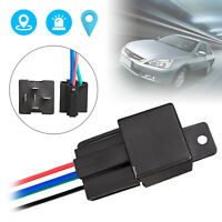 Car GPS GSM Tracker Tracking Security Device Relay-Shape Cut Oil Remotrly 40V US