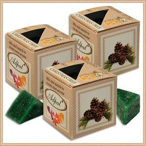 3 x Duftwachs Christbaum | Aroma Duftkerze Schmelzwachs Wax Aromatic
