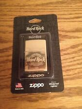 Hard Rock Cafe' Hotel & Casino ZIPPO LIGHTER Brass Finish TAMPA Florida *New*